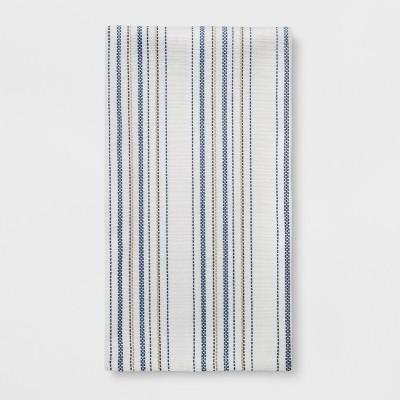 Woven Stripe Kitchen Towel Blue - Threshold™