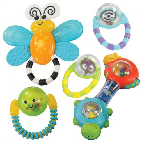 Kaplan Early Learning Company Grasp & Explore Rattle Set - Set of 5 - image 1 of 1