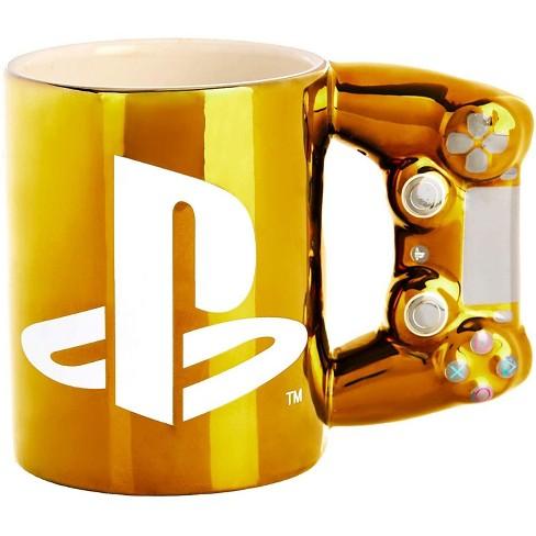 PlayStation Gold Controller 11oz Ceramic Coffee Mug - image 1 of 3