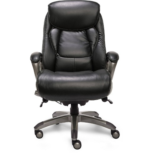 Smart Layers Premium Ultra Executive Chair Tranquil Brown Bonded Leather - Serta - image 1 of 12