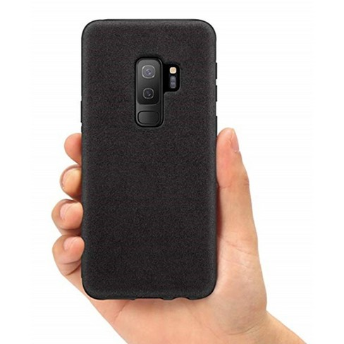 watch 0e8a5 ac4a7 Samsung Galaxy S9 Case Alcantara - Black