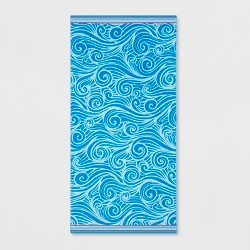 XL Wave Beach Towel - Sun Squad™