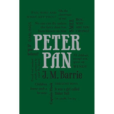 Peter Pan -  (Word Cloud Classics) by J. M. Barrie (Paperback)