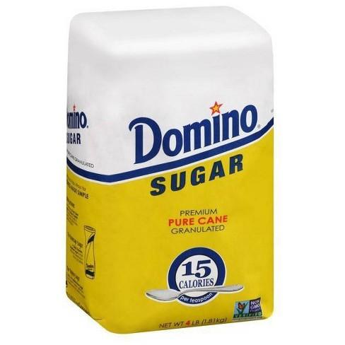 Domino Premium Pure Cane Granulated Sugar 4 lb - image 1 of 4