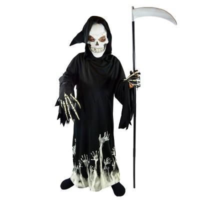 Kids' Grim Reaper Deluxe Halloween Costume