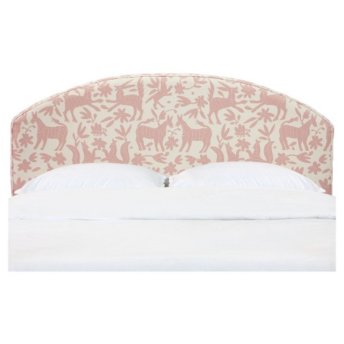 Jewels Curved Headboard - Pinata Wallflower<br> - Skyline Furniture® - image 1 of 3