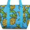 Zodaca Women Fashion Large Insulated Zip Top Closure Picnic Lunch Tote Double Handles Carry Bag - Paisley - image 3 of 3