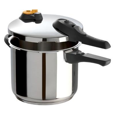 T-Fal 6qt Pressure Cooker Silver