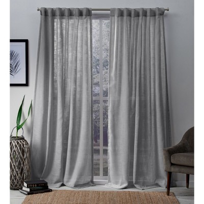 Bella Light Filtering Window Curtain Panel - Exclusive Home