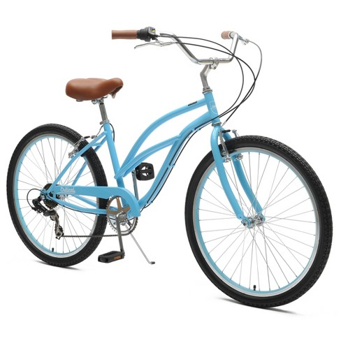 "Critical Cycles Ladies Chatham 7-speed Cruiser Bike- 26"" - Sky Blue - image 1 of 2"