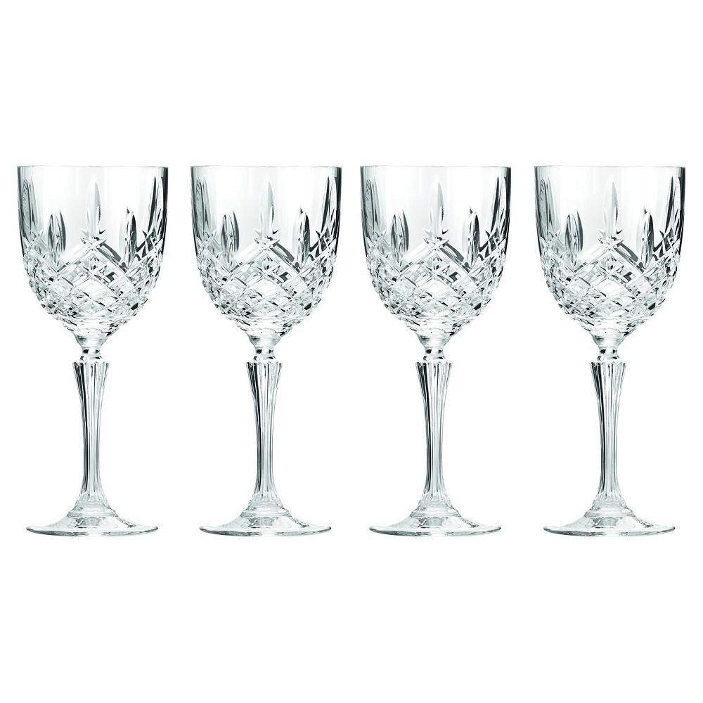 Image of Marquis by Waterford Markham Crystal Wine Glass 12oz - Set of 4