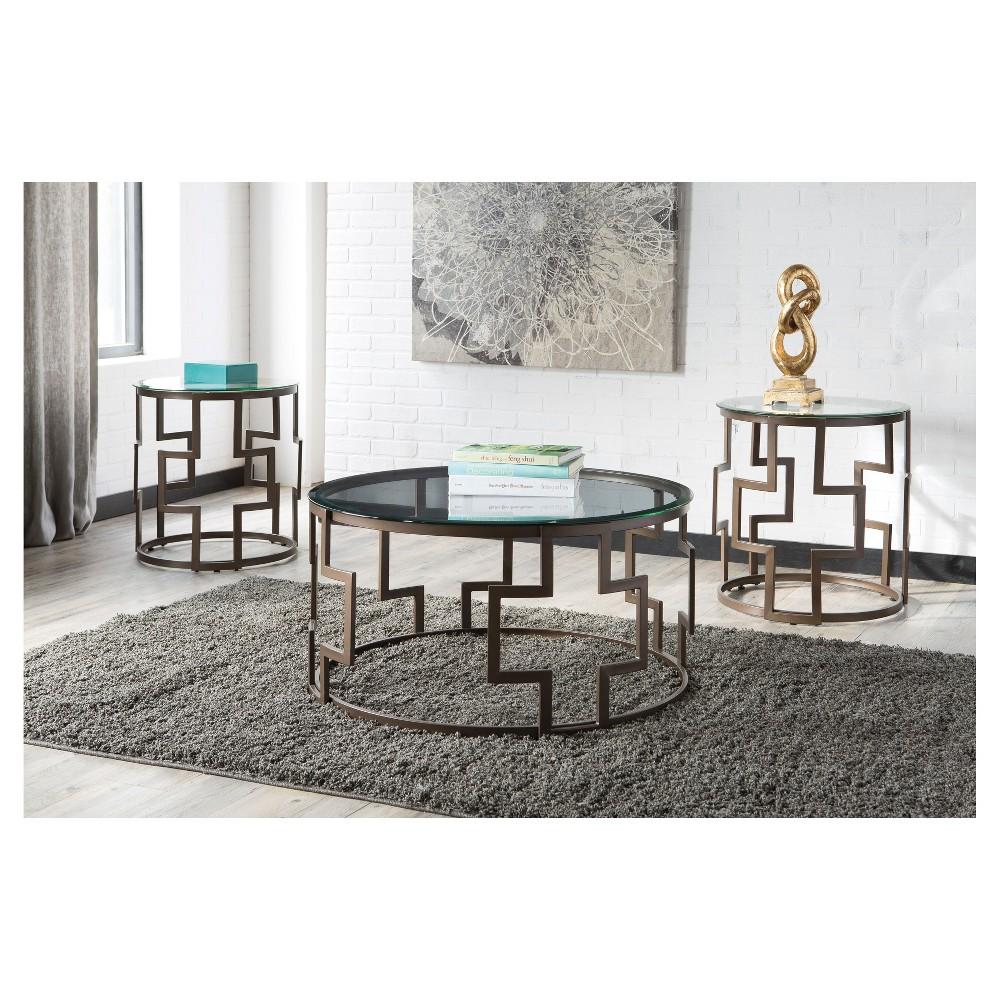 Table Set Bronze Cloud - Signature Design by Ashley