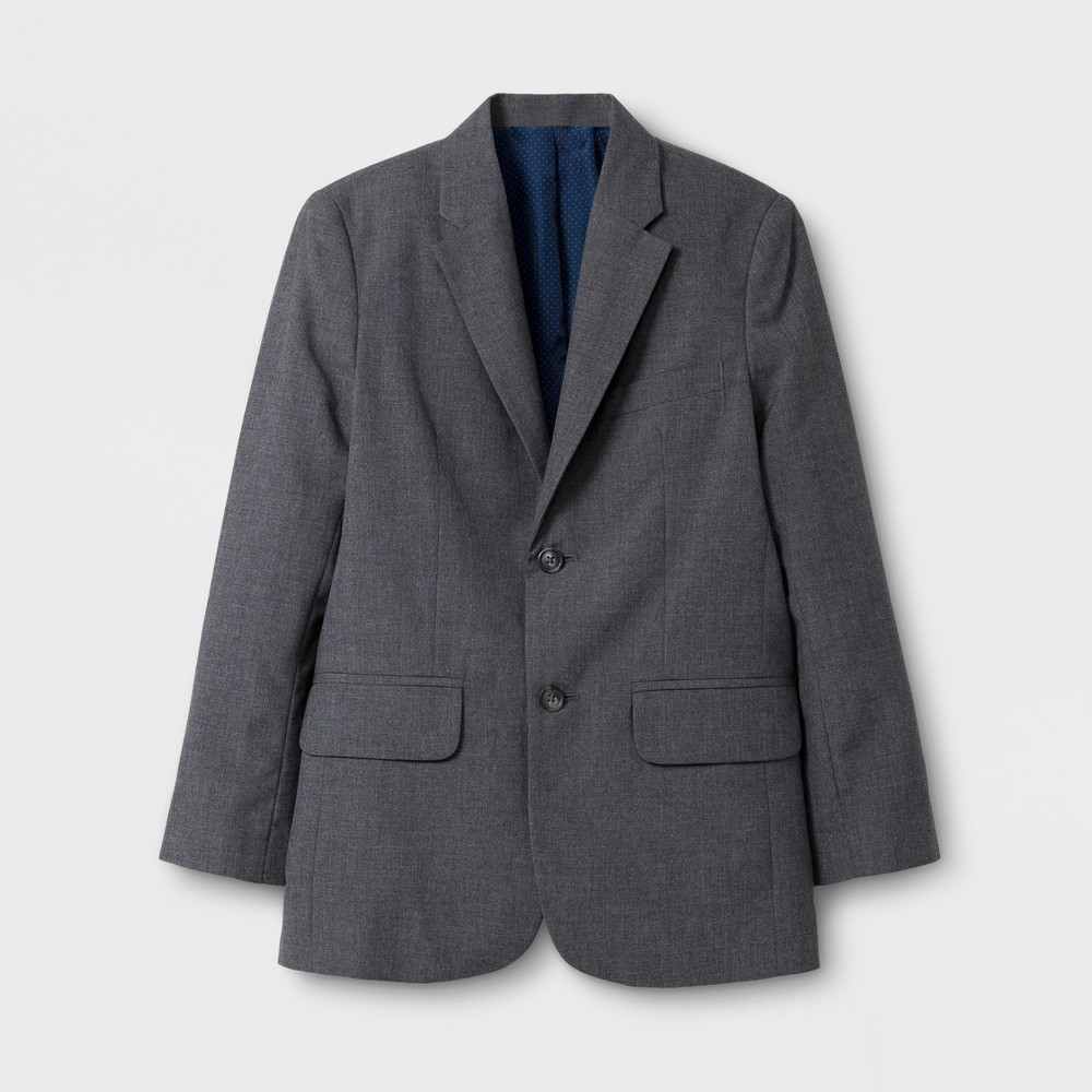 Boys' Suit Jacket - Cat & Jack Gray 16