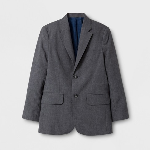 Boys' Suit Jacket - Cat & Jack™ Gray - image 1 of 2