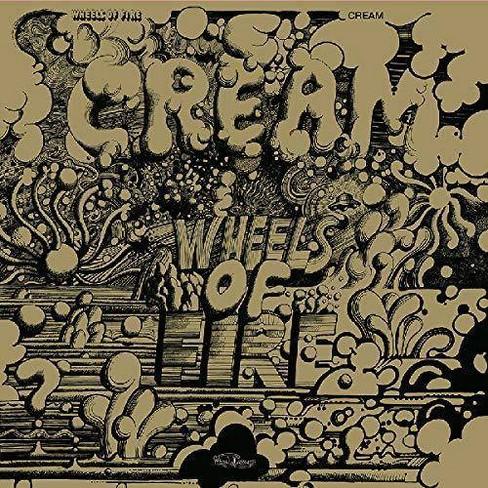 Cream - Wheels Of Fire (Golden Jacket) (Vinyl) - image 1 of 1