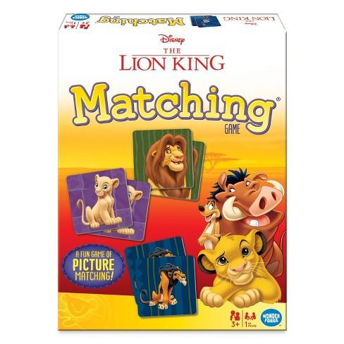 Disney Lion King Matching Game - image 1 of 4