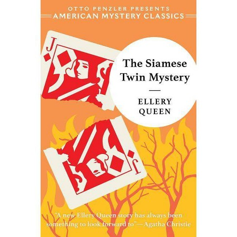 Siamese Twin Mystery Pa - (Ellery Queen Mystery) by  Ellery Queen (Paperback) - image 1 of 1
