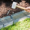 20' Emsco Bedrocks Lawn Edging Wall Slate Color - image 3 of 3