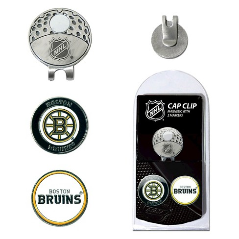 NHL 2 Marker Cap Clip Golf Accessories Set Boston Bruins - image 1 of 1