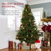 Best Choice Products Pre-Lit Hinged Douglas Full Fir Artificial Christmas Tree Holiday Decoration - image 2 of 4