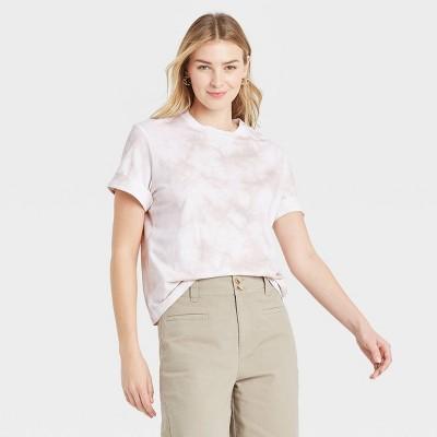 Women's Short Sleeve Cuff T-Shirt - A New Day™
