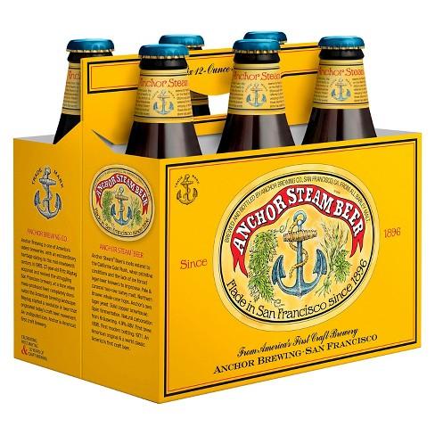 Anchor Steam Beer - 6pk/12 fl oz Bottles - image 1 of 1