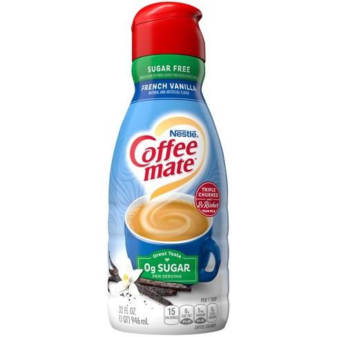 Coffee Mate Sugar Free French Vanilla Coffee Creamer - 1qt - image 1 of 4