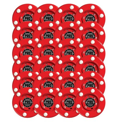 Franklin Sports Pro Commander Puck 24 pc - Red