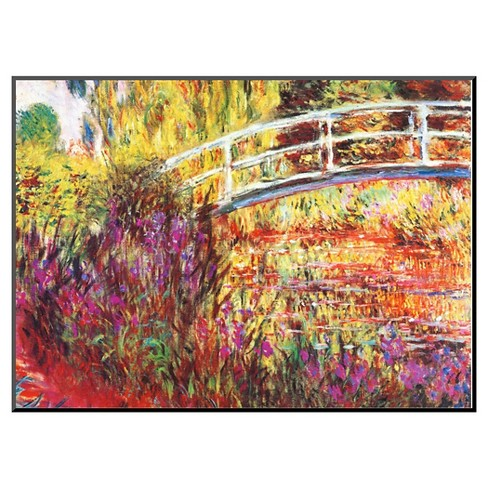 Art.com The Japanese Bridge by Claude Monet - Mounted Print - image 1 of 2