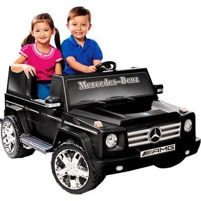 Kid Motorz 12V Mercedes Benz G55 Two Seater Powered Ride-On - Black