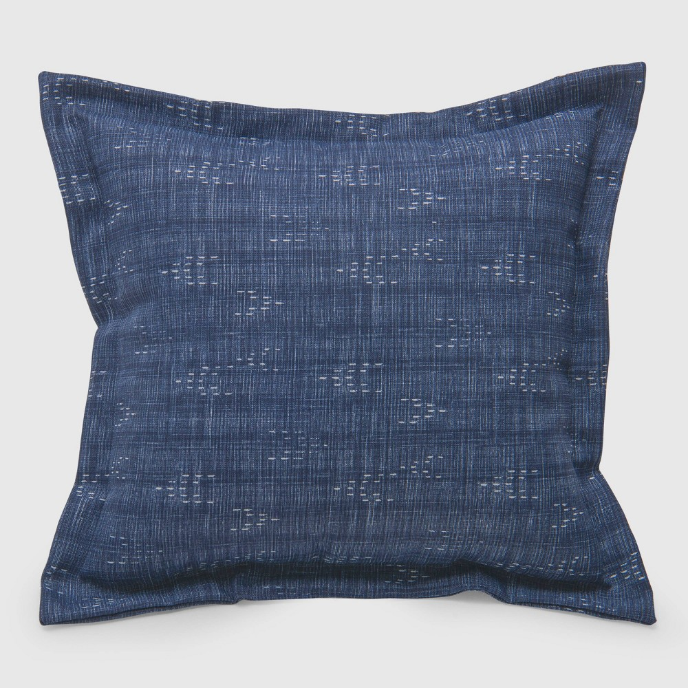 Staccato Outdoor Deep Seat Pillow Back Cushion Navy (Blue) - Threshold