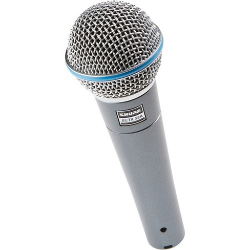 Shure Beta 58A Supercardioid Dynamic Vocal Microphone Target