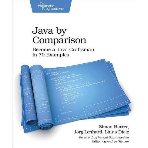 Java by Comparison - by  Simon Harrer & Jorg Lenhard & Linus Dietz (Paperback) - image 1 of 1
