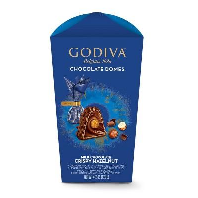 Godiva Crispy Hazelnut Domes - 4.2oz