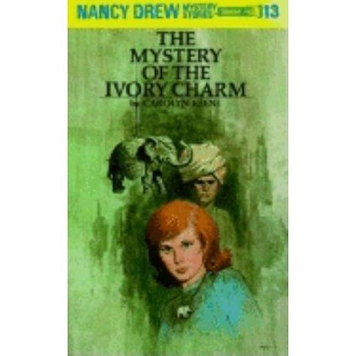Nancy Drew 13: The Mystery of the Ivory Charm - by  Carolyn Keene (Hardcover)