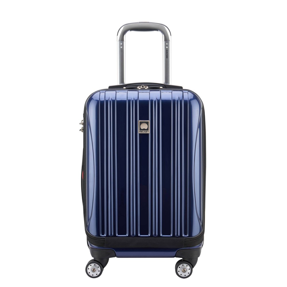 "Image of ""DELSEY Paris Aero 19"""" Carry On Spinner Suitcase - Blue"""