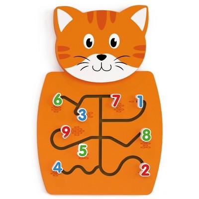 Learning Advantage Cat Activity Wall Panel