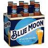 Blue Moon Belgian White Wheat Ale Beer - 6pk/12 fl oz Bottles - image 2 of 4