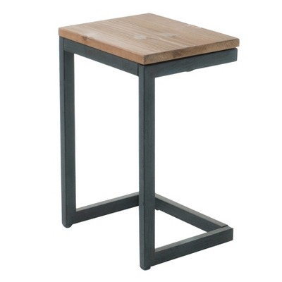 Darlah Small Firwood Table Antique - Christopher Knight Home