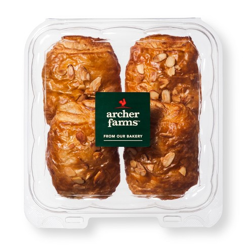 Almond Croissants 4ct - Archer Farms™ - image 1 of 1