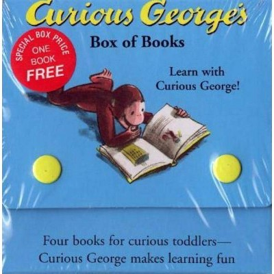 Curious George's Box of Books - by Margret Rey (Board_book)