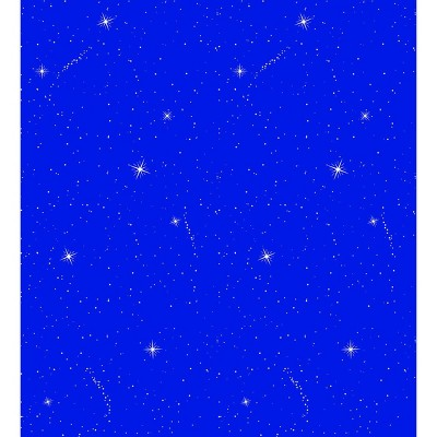 Fadeless Designs Paper Roll, Night Sky, 48 Inches x 12 Feet