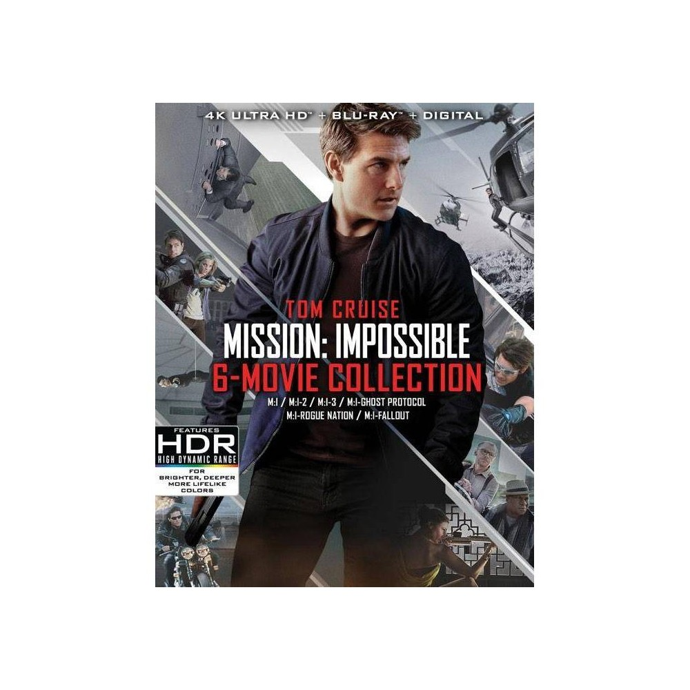 Mission: Impossible 6-Movie Collection (4K/UHD)