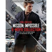 Mission: Impossible 6 Movie Collection (Digital 4K UHD)
