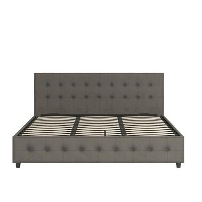 Selma Upholstered Bed - Room & Joy