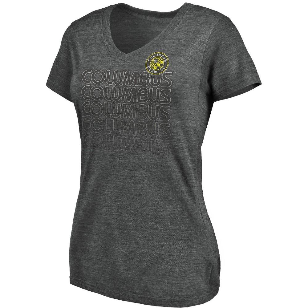 Mls Columbus Crew Women 39 S V Neck T Shirt S