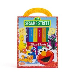 My Growing-Up Library Sesame Street