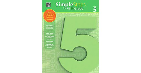 Simple Steps for Fifth Grade (Paperback) (Thinking Kids (COR)) - image 1 of 1