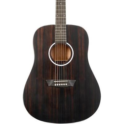 Washburn Deep Forest Ebony D Acoustic Guitar Natural Matte