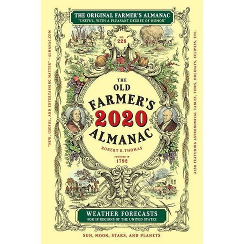 The Old Farmer's Almanac 2020, Trade Edition - (Paperback) - image 1 of 1